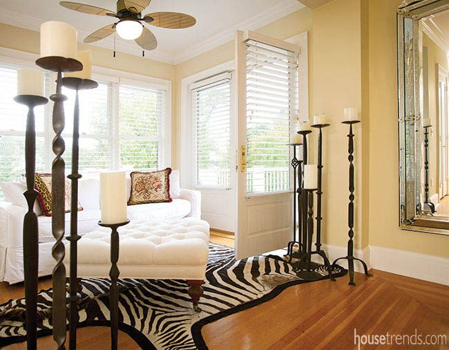 French Doors In Master Bedroom Lead To A Rooftop Terrace