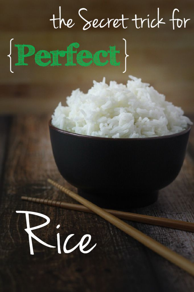 A foolproof method for perfect rice, every time.