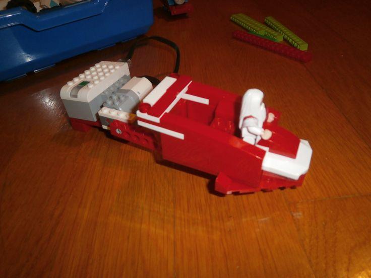 santa's sleigh lego wedo