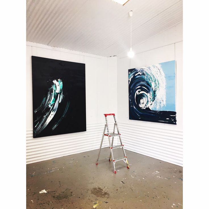 Spring Exhibition 2017 Wave Series Annette Spinks
