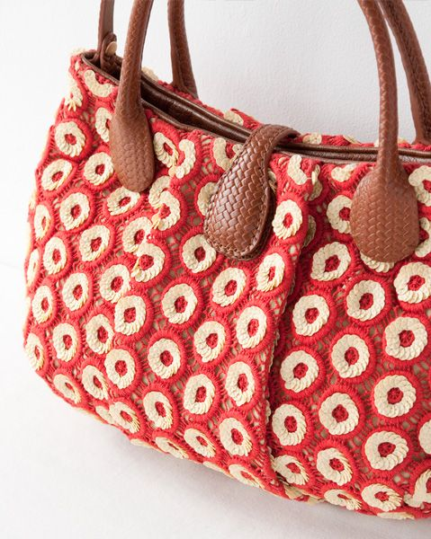 JAMIN PUECH purse red