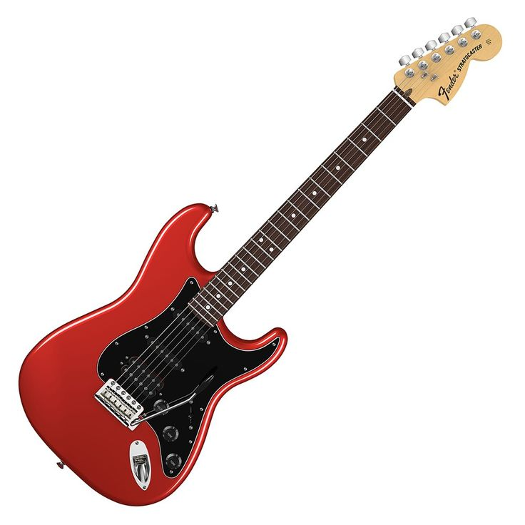 red lollipops | ... American Special Stratocaster HSS - Rosewood Neck - Candy Apple Red