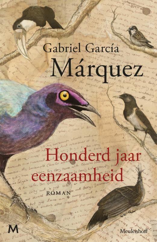 Titel: Honderd jaar eenzaamheid --  Gabriel García Márquez (auteur), Mariolein Sabarte Belacortu (vertaler) -- fictie -- In 1967 verscheen Gabriel García Màrquez' meesterwerk Honderd jaar eenzaamheid, waarmee de Latijns-Amerikaanse literatuur definitief op de wereldkaart werd gezet. Ter gelegenheid van de vijftigste verjaardag van deze prachtige familiekroniek brengt Uitgeverij Meulenhoff een luxe jubileumeditie in een fonkelnieuwe vertaling van Mariolein Sabarte Belacortu. (bron: Boek.be)