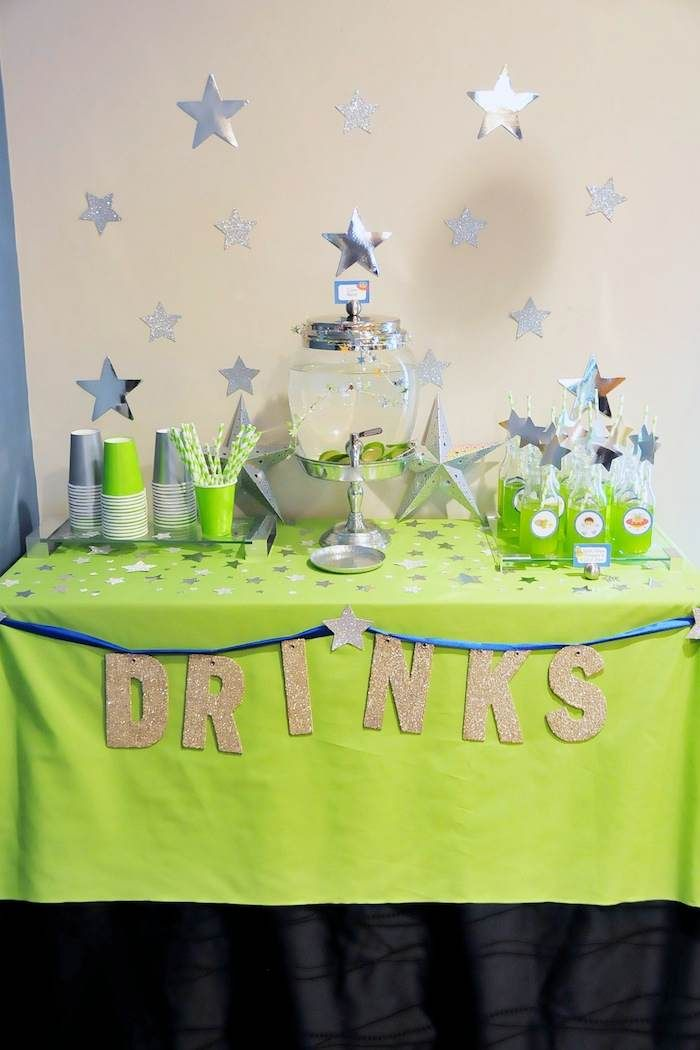 Astronaut Themed Birthday Party with Lots of Really Fun Ideas via Kara's Party Ideas | KarasPartyIdeas.com #spaceparty #alienparty #solarsys...