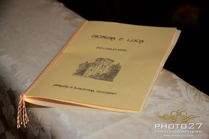 libretti messa #wedding