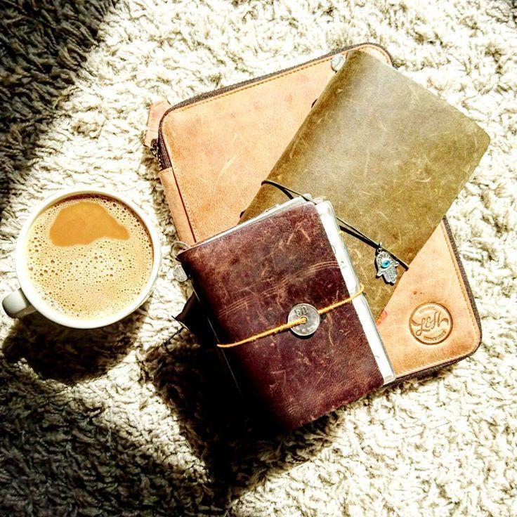 Good morning sunshine! ☀ . . . . . . . . . #midoritravelersnotebook#travelersfactory#travelerscompany#loveforanalogue