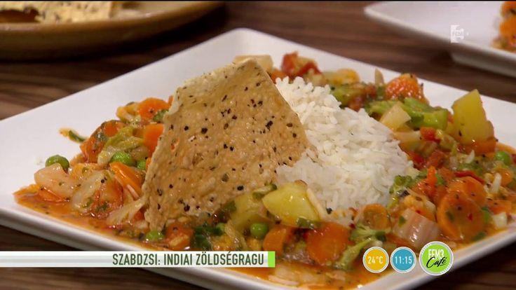 Ízletes vegán étel az indiai szabdzsi - tv2.hu/fem3cafe