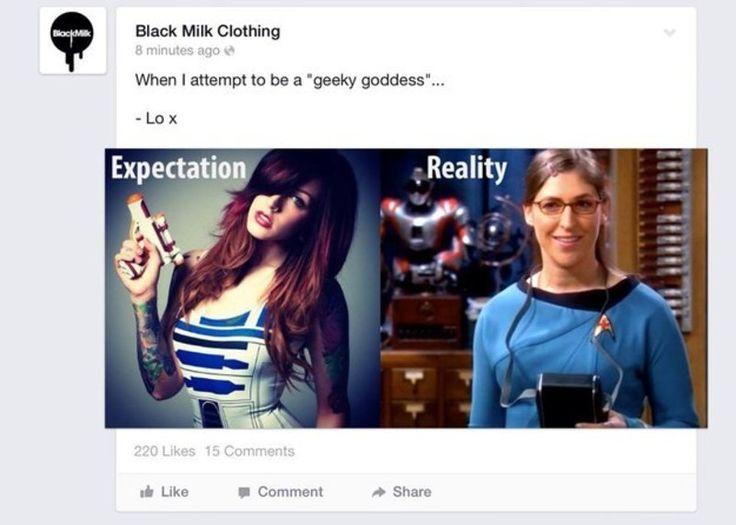 A cagada da Black Milk Clothing