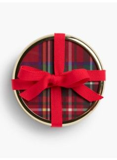 Our Tartan Plaid Coasters make the perfect holiday gift when paired with the matching Tartan Plaid Mug.