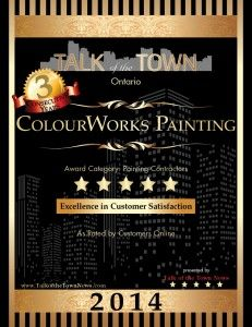 Talk of the Town 5-Star Excellence in Customer Satisfaction Award for 3 years running.