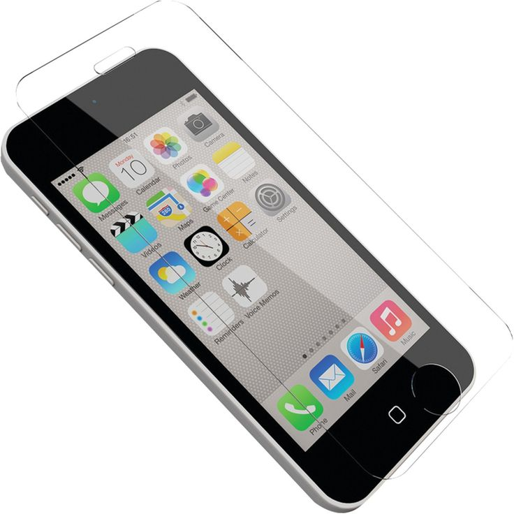 OtterBox Alpha Glass Screen Protectors for iPhone 5/5s & iPhone 5c - Retail Packaging