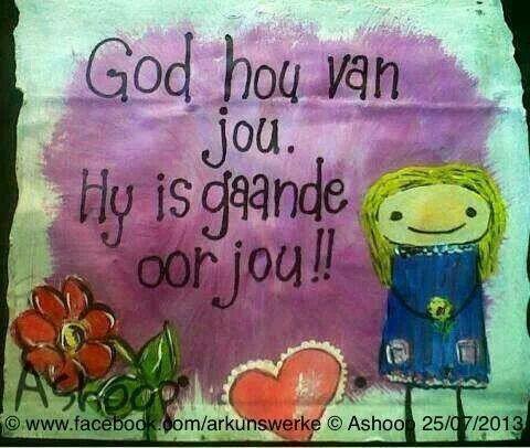 God is gaande oor jou