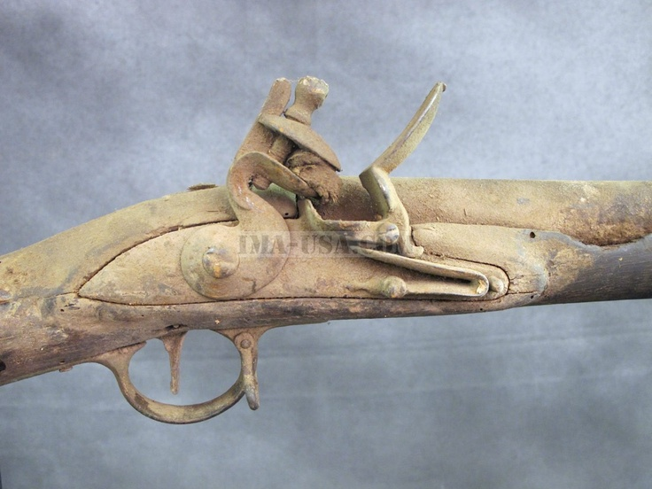 Military Antiques, Military Collectibles and Militaria British EIC P-1771 Third Model Brown Bess Flintlock Musket- Untouched IMA-USA.COM