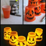 Halloween Cup Decorations - http://pagingfunmums.com/2013/10/13/halloween-cup-decorations/