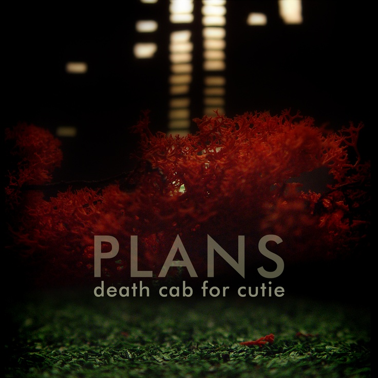 death cab for cutie . plans