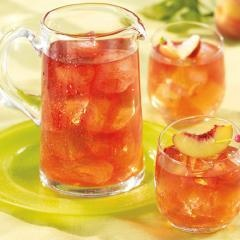 Ginger Peach Spritzer -This Nonalcoholic Spritzer Get Its Spritz From ...