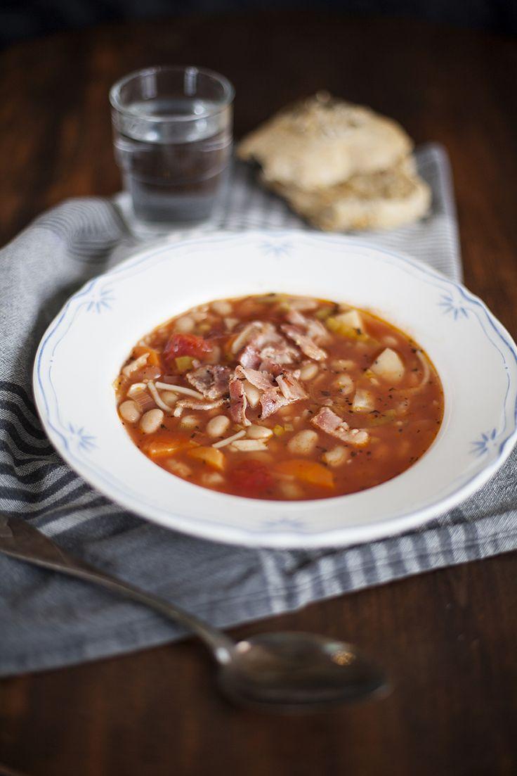 Värmande minestronesoppa, receptet hittar du här: http://martha.fi/sv/radgivning/recept/view-93381-4593