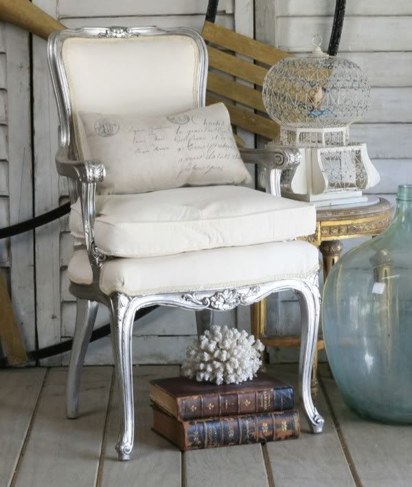Charming Home Sweet: Vintage Charm. French ArmchairFrench ... Idea