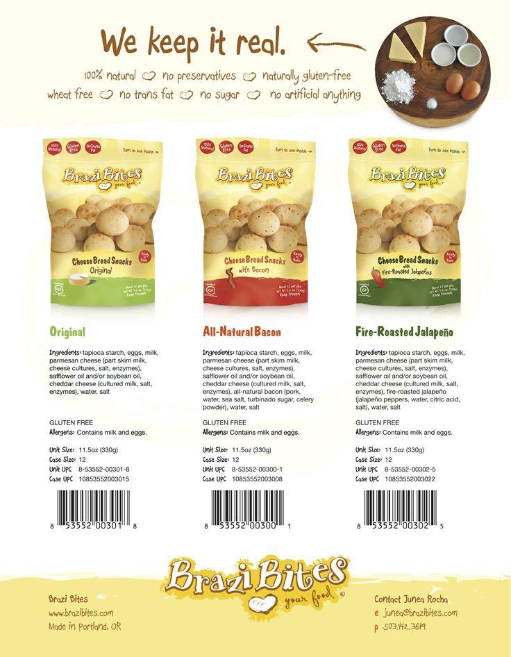 Brazi Bites Cheese Bread - Buy Online
