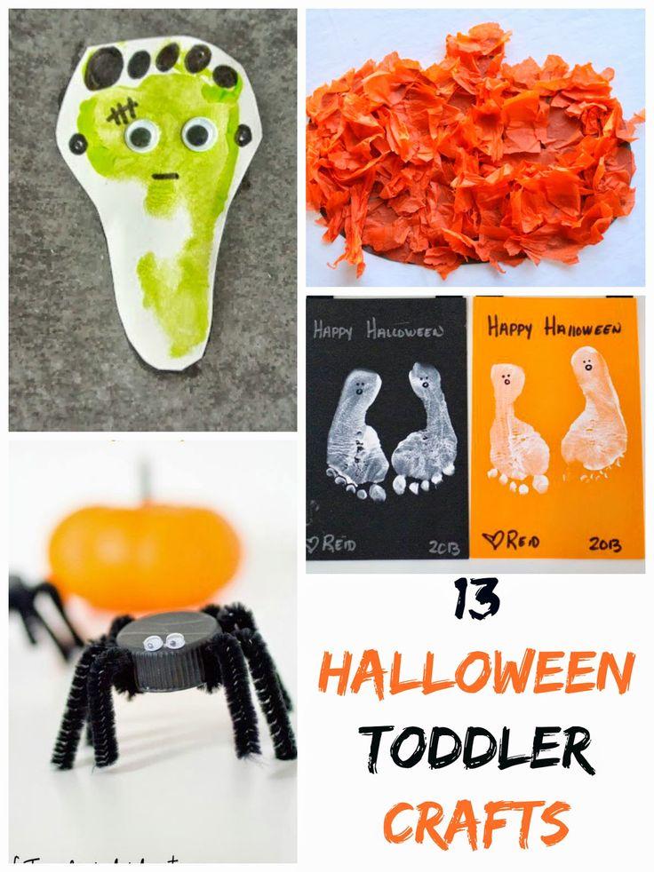13 Halloween Toddler Crafts