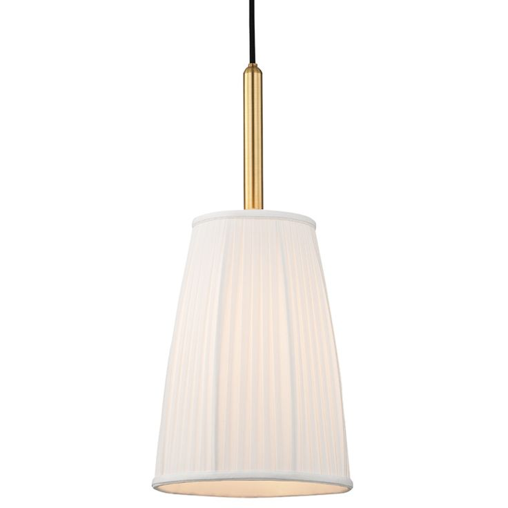 Perhaps for the Nail Side of the salon  Malden Pendant by Hudson Valley Lighting | 6060-PN