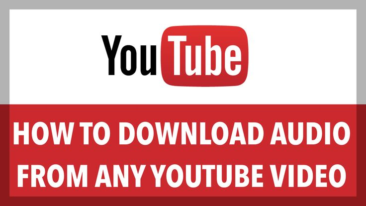 how to download audio from the internet