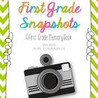 First Grade Snapshots: This memory book is a great addition to the end of the year activities for first grade.