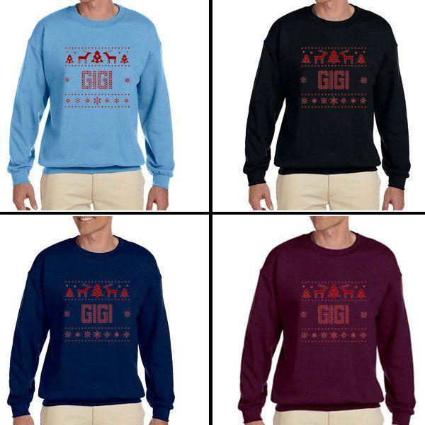 1-800 HOTLINE BLING GIGI Cristmas  Unisex Adult sweater Crewneck Sweatshirt