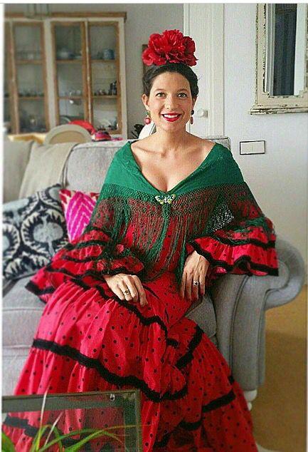 Trajes de gitana   loquita por los lunares flamencos ...