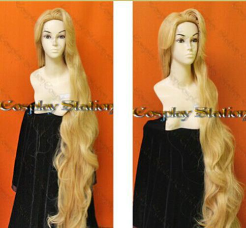 Rapunzel-Custom-Styled-Wig-150cm-Resistance-High-temperature-Mixed-Gold-wig
