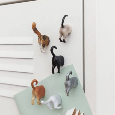 These cat butt magnets. | 24 Adorable Products Every Cat Lover Needs In Their Home