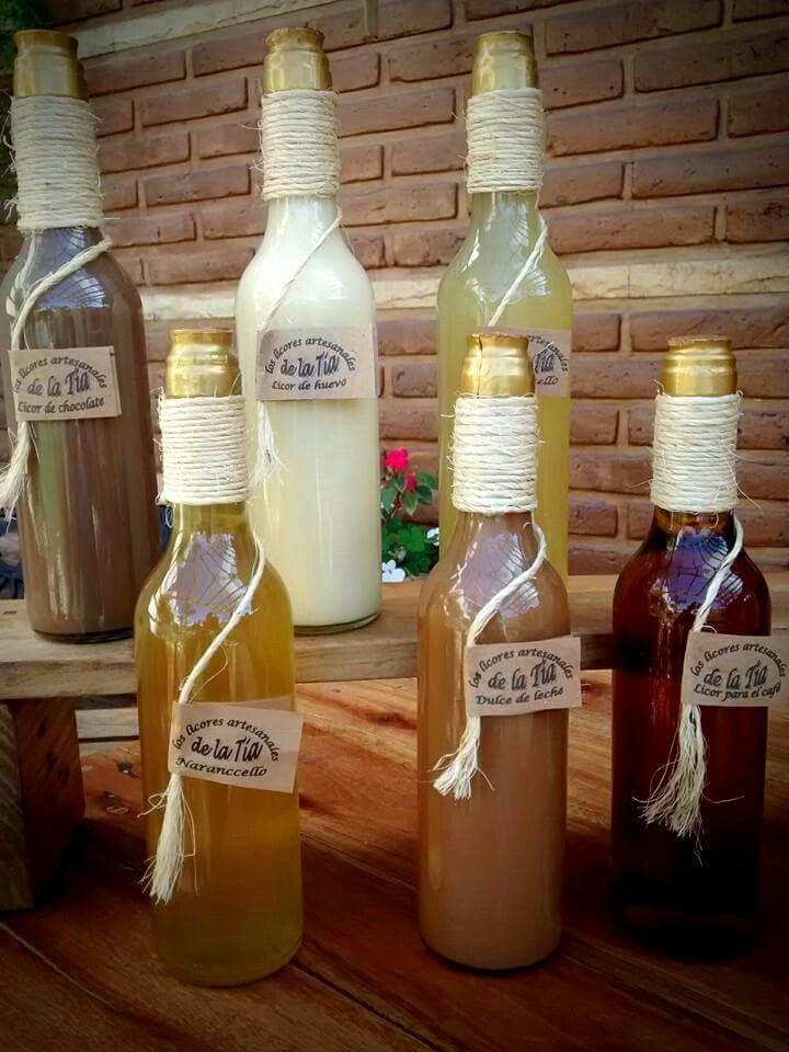 Seis sabores para elegir tu licor !!!
