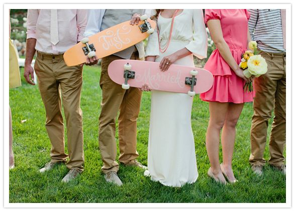 for the #skater bride and groom #wedding- and I know the perfect person who can make these! email me :)