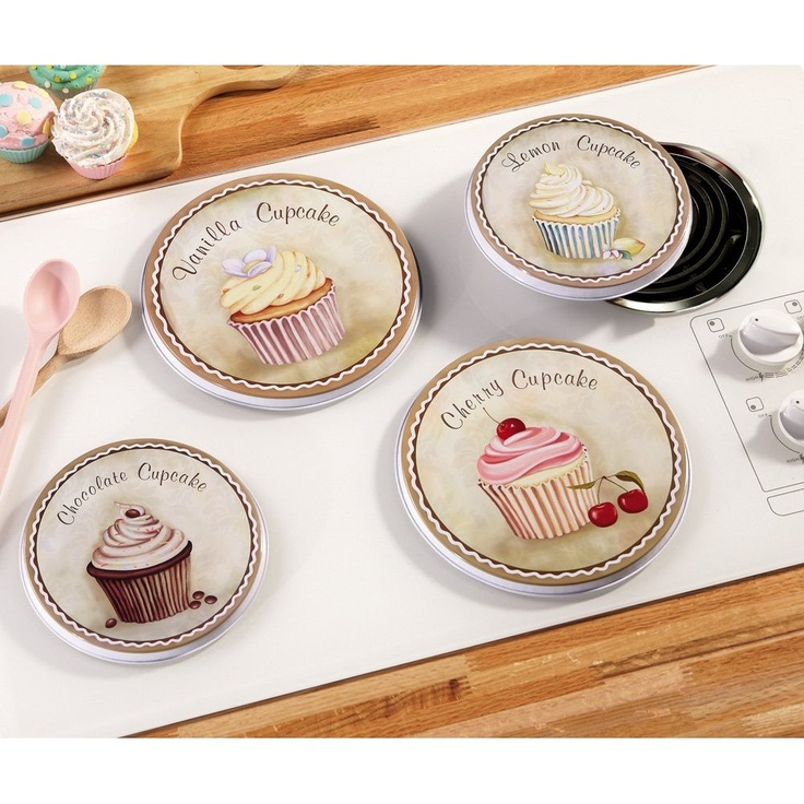 Cupcake Burner Covers