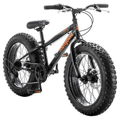 Kids Mongoose Compact Mountain Bike 20 - Black/Orange