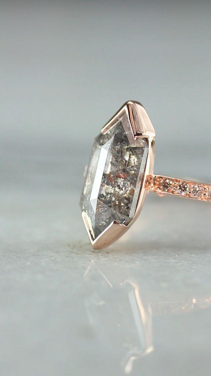 Pin on Chinchar/Maloney Natural Rustic Diamond Rings