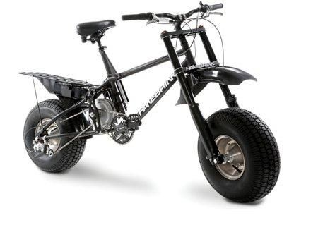 Off-road electric-bicycle - does 40mph on the flat!
