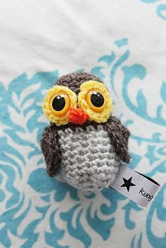 Owl Amigurumi - FREE Crochet Pattern and Tutorial  Pattern is not in English.