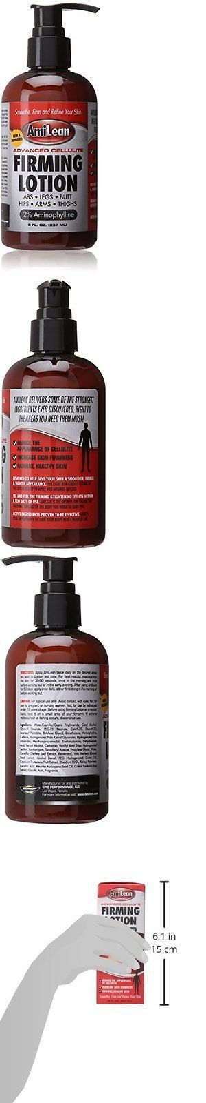 Sports Diet and Weight Loss: Amilean Cellulite Cream Firming Lotion, Anti-Fat Andamp: Anti Cellulite Formula, 8 BUY IT NOW ONLY: $37.36