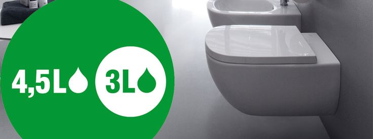 Make your loo the best seat in the house by upgrading to the latest generation of Laufen Bathrooms #WaterSaving #toilets