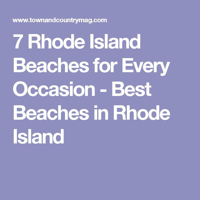 7 Rhode Island Beaches for Every Occasion - Best Beaches in Rhode Island