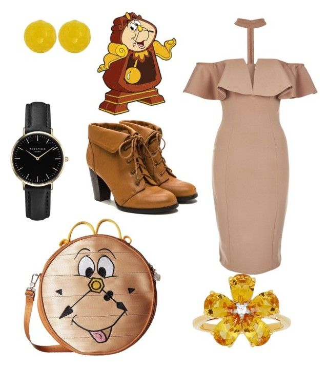 """Cogsworth"" by irishgirl3333 ❤ liked on Polyvore featuring Harveys, Rare London, ROSEFIELD and David Tutera"