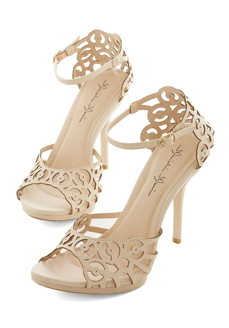 Loving laser cuts shoes