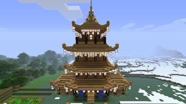 pagoda minecraft pinterest japanese pagoda and japanese - Minecraft Japanese Pagoda