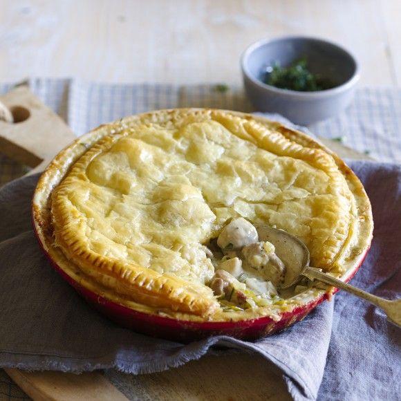 Chicken Pie - family pie recipe idea