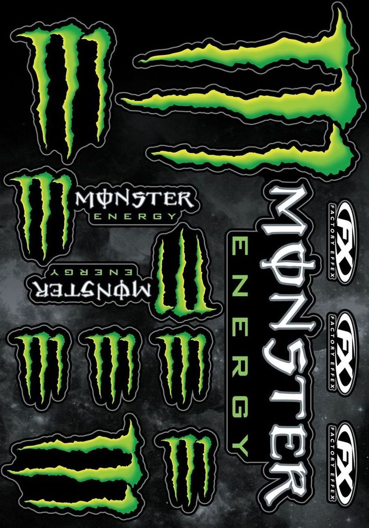 78 best images about monster energy stickers on pinterest. Black Bedroom Furniture Sets. Home Design Ideas
