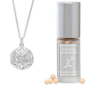 Lisa Hoffman Sterling Silver Flora Fragrance Necklace