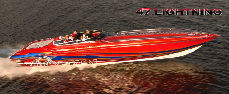 47 Lightning  Fountain Power Boats