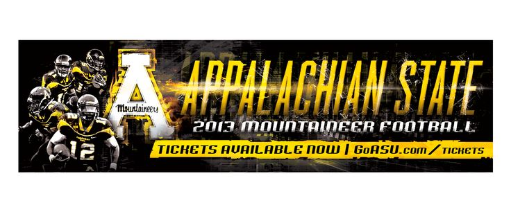 Appalachian State Football Billboard | Old Hat Creative