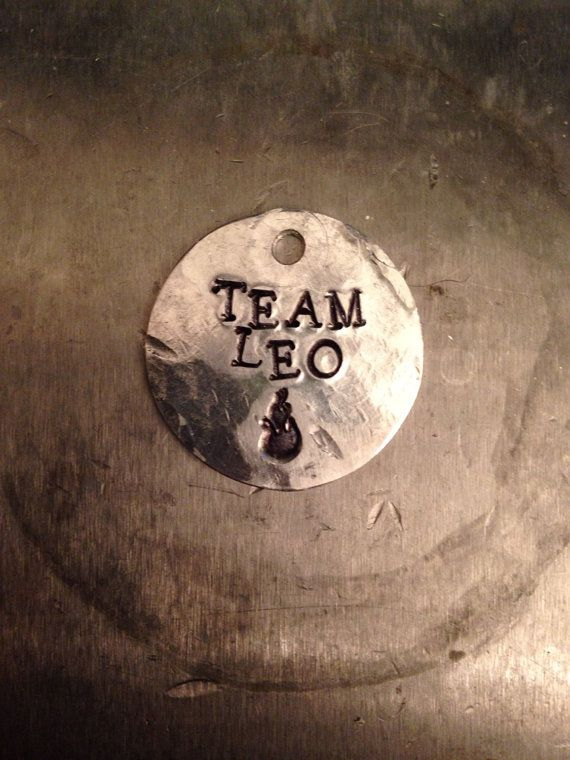 "Percy Jackson Inspired ""Team Leo"" Necklace"